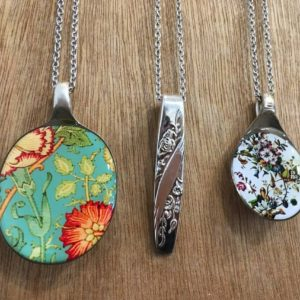 Recycled Spoon Necklaces